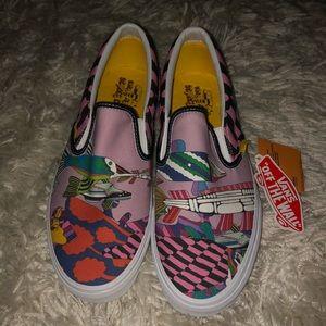 Vans Beatles Yellow Submarine Slip on Size 10